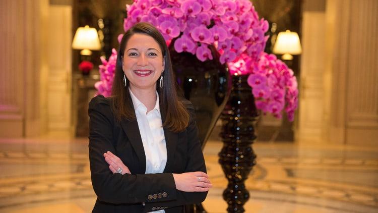 Anne-Laure Araud-Soulier, du Four Seasons Hotel George V